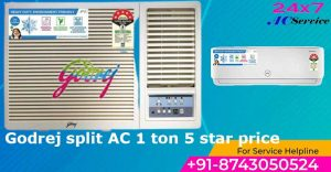 Read more about the article Godrej ac 1 ton 3 star price