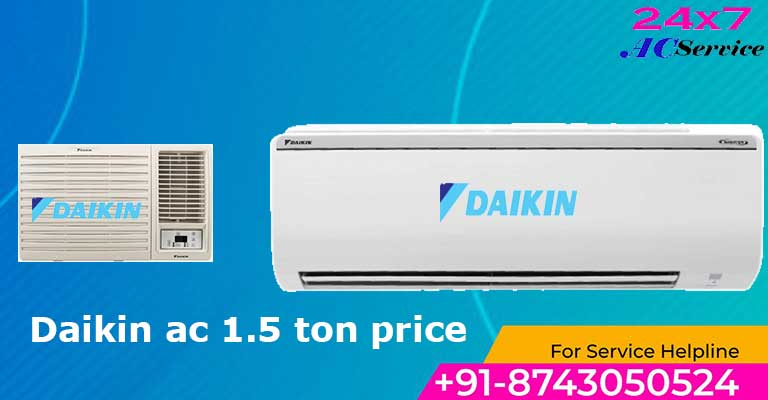 You are currently viewing Daikin split ac 1.5 ton 5 star inverter price